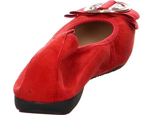 Ballet La 227 50 Flats 90023 Red Ballerina Women's wqBUrBX7