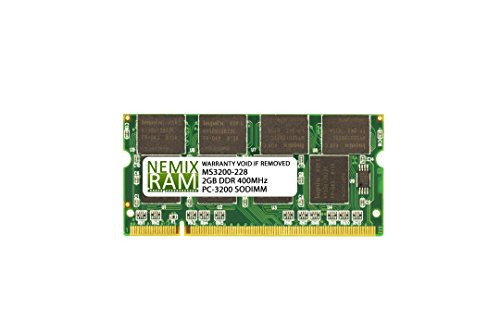 2GB DDR2 400MHz PC2-3200 200-pin SODIMM Laptop Memory RAM