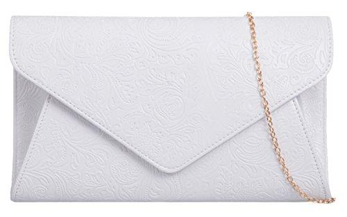 Girly Handbags - Cartera de mano Mujer blanco