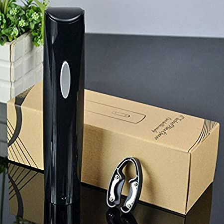 FEE-ZC Abridor eléctrico de Botellas de presión de Aire con abridor de Vino Tinto con Cortador de Aluminio, Juego de Regalo de sacacorchos eléctrico
