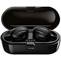 Bluetooth 5.0 Wireless Earbuds, Hi-Fi Stereo in-Ear Earphones with 350Mah Charging Case IPX5…