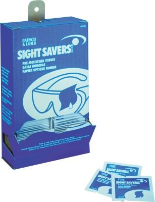 Bausch & Lomb Eye Glass Cleaner Wipes, 100 Wipes/Pack