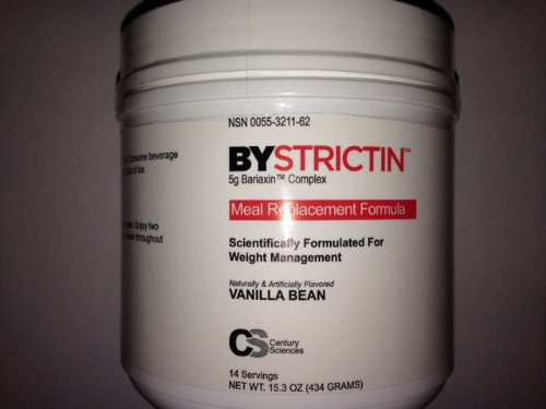 BYSTRICTIN Meal Replacement Formula Weight Management Expands in Your Stomach 50 times - Vanilla Bean - 15.3oz