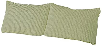 Chenille Standard Blanc Beatrice Home Fashions Canal Chenille Couvre-lit
