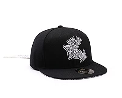 Underground Kulture Limited Edition Tie-Back Bandana Baseball Cap (BLACK) by Snapbacks