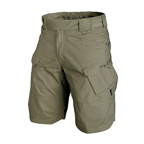 Helikon-Tex UTK Shorts Adaptive Green Poly Cotton Ripstop Waist 32 Length 11, Urban Line Urban Tactical Shorts (Short Belt)