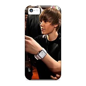 For Iphone 5c Phone Cases Covers(justin Bieber Giving Autographs) WANGJING JINDA