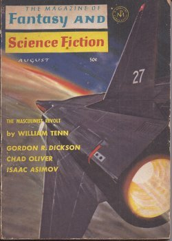 The Magazine of FANTASY AND SCIENCE FICTION (F&SF): August, Aug. 1965