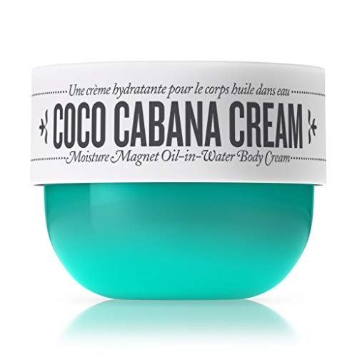 Sol de Janeiro Coco Cabana Cream Moisture Magnet Oil-in-Water Body Cream (Full Size 8 fl oz/ 240 ml)