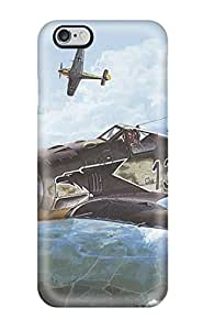 First-class Case Cover For Iphone 6 Plus Dual Protection Cover Aircraft