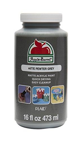 Apple Barrel 4477E Acrylic Paint 16 oz. Grey
