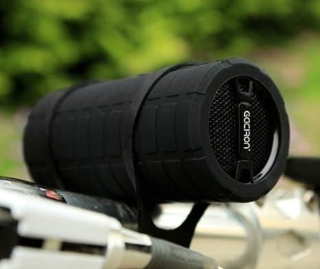 Gaciron - Parlante MP3 portátil para bicicleta, resistente al agua ...
