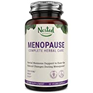 Menopause Complete Herbal Care Supplement for Women | 60 Vegan Capsules | Natural Black Cohosh Extract & Dong Quai Root | Support for Mood Swings & Hot Flashes | One A Day Menopause Relief