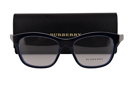 Burberry BE2227 Eyeglasses 52-17-140 Blue 3603 BE - Ophthalmic Burberry Frames