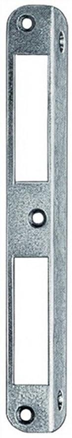 Winkel-Schlie/ßblech f.ZT 20x8x170mm abgerundet ungleichschenklig alufinish