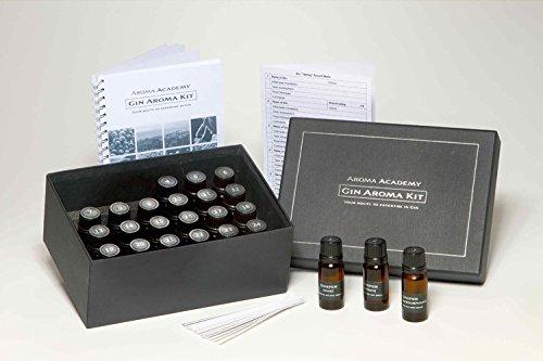 Aroma Academy - Gin Aroma Kit - 24 Aroma Nose Training System