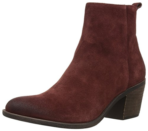 Lucky Brand Women's Natania Ankle Boot, Sable, 9 Medium US