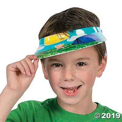 Do It Yourself Plastic Visor - Crafts for Kids and Fun Home Activities: Toys & Games