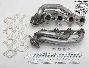 Hedman 82706 HTC Stainless Steel Shorty Hedder for Ford Mustang 4.6L 3V 05-10 (Headers Shorty Hedman)