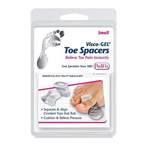 (PediFix Visco-Gel Toe Spacers, Small 2 ea (Pack of)