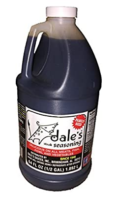 Dale's Gluten-Free Steak, Poultry and Vegetable Marinade and Seasoning 64 Ounce Family Size (1/2 Gallon)