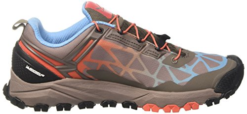 Track Multi Chaussures Multisport Halbschuh Hot Femme Outdoor Salewa Cinder Gris 0726 Coral RpwnTqq