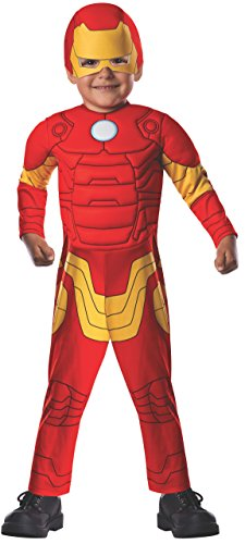 Marvel Classics Avengers Assemble Padded Muscle Chest Iron Man Costume, Toddler (Spiderman Cosplay For Sale)