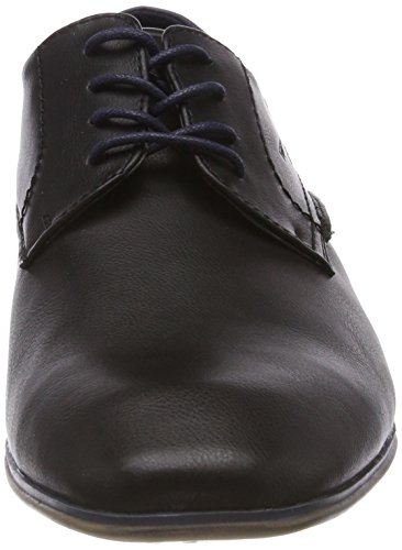 TAILOR Herren 4880104 Black TOM Derbys Schwarz Hwq5xxTd