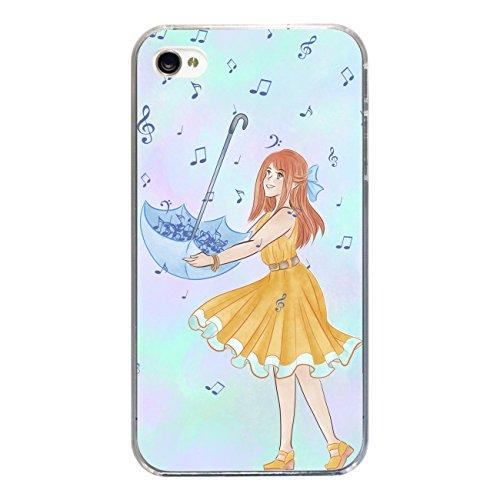 "Disagu Design Case Coque pour Apple iPhone 4 Housse etui coque pochette ""Notenregen"""