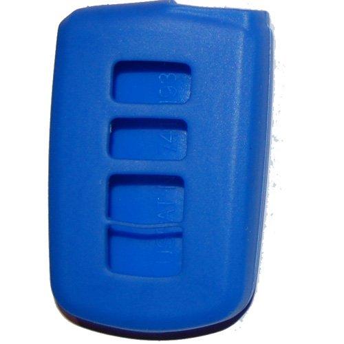 2013 - 2017 2018 Toyota Avalon Silicone Key Rubber Remote Cover Blue