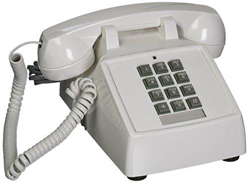 Itt Desk - Cortelco ITT-2500-V-WH 1-Handset Landline Telephone