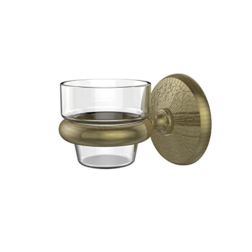 Allied Brass MC-64-ABR Monte Carlo Collection Wall Mounted Votive Candle Holder Antique Brass