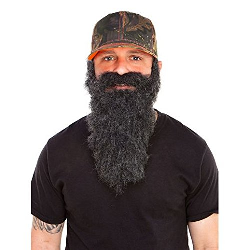 Fancy Face Paint Color Halloween Redneck Black Beard