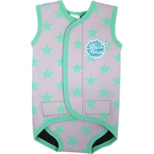 Splash About Baby Wrap Neopren Neoprenanzug, Herren, Stars Lilac, Large (18 - 30 Monate)
