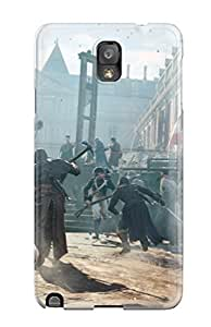 New Galaxy Note 3 Case Cover Casing(assassins Creed Unity)