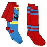 Marvel Comics Superhero Womens Novelty Costume 2 pack Knee High Socks (Adult)