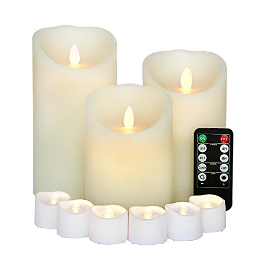 Flameless Candles Dancing batteries Function product image