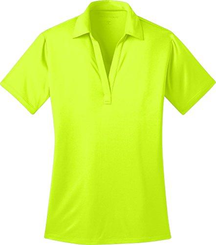 Port Authority®Ladies Silk TouchTM Performance Polo, Neon Yellow, -