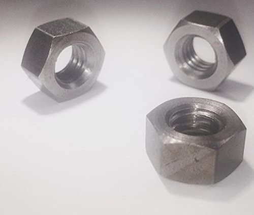 10 Pack Reverse 3//8-16 Left Hand Thread Hex Nut 18-8 Stainless Steel 18-8 Made in USA