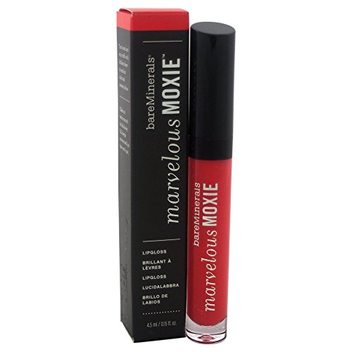 bareMinerals Marvelous Moxie High Roller Lip Gloss for Women, 0.15 Ounce