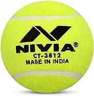 Nivia Heavy Tennis Ball Cricket Ball (Pack of 6)