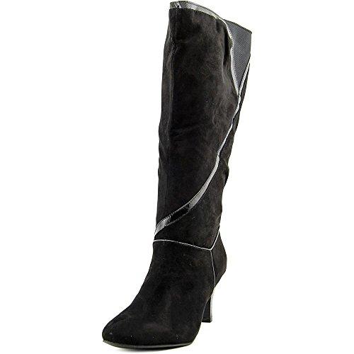 Future Footwear - Karen Scott Mailaa Wide Calf Women Round Toe Synthetic Mid Calf, Black, Size 6.5