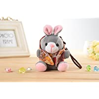 immi® Creative Portable Charger, Plush Cartoon Rabbit Power Bank 5200mAh High Capacity Portable External Battery Charger for iPhone 5, 4S, 4, iPad 4, 3, 2, Mini, iPods; Samsung Galaxy S4, S3, S2, Note 2; HTC One, EVO, Thunderbolt, Incredible, Droid DNA; Motorola ATRIX, Droid; Google Nexus 4, Nexus 7, Nexus 10; Nokia Lumia; LG Optimus; Blackberry; Android Devices, Andriod Phones (Unique Fashionable Gift For Girls)