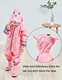 Vmonyco Kids One Piece Rainsuit Toddler Raincoat