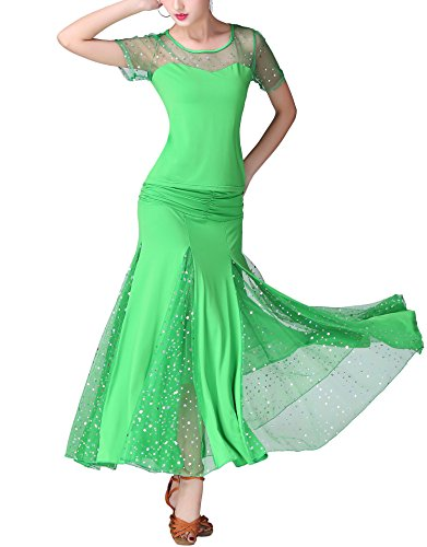 Modern Smooth Ballroom Waltz Tango Events Dance Costumes