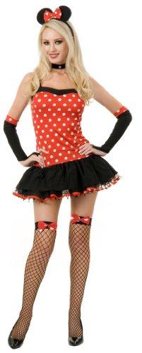 Teen Minnie Mouse Costume (Size Medium -