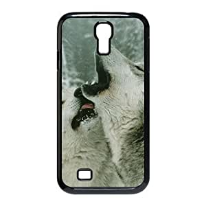VNCASE Gray Wolf Phone Case For Samsung Galaxy S4 i9500 [Pattern-1]