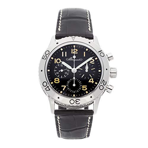 Breguet Type XX Mechanical (Automatic) Black Dial Mens Watch 3800ST/92/9W6 (Certified Pre-Owned) (Breguet Watches Men)