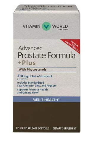 Vitamin World Prosta-Metto +Plus With Phytosterols 90 rapid release softgels
