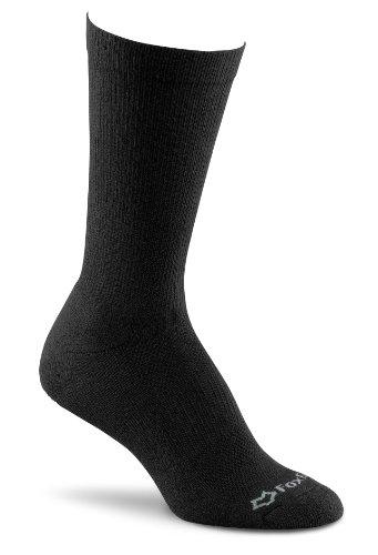 Fox River Women's Crew Socks (Pack of 3), Black, Medium (Fox Wool Socks River)